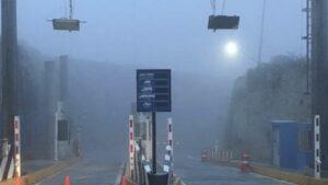 Por llovizna y neblina Cierran autopista Monterrey- Saltillo