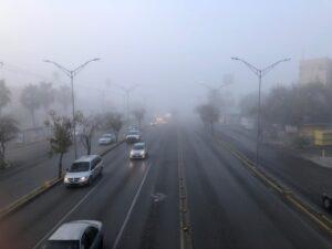 FOTOS: Así se vio la densa niebla en las calles de Nuevo Laredo