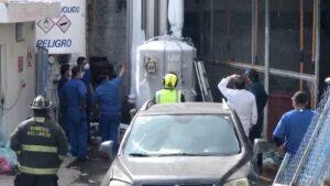 Se registra fuga de oxígeno médico en el Hospital del IMSS