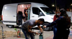 'Oxígeno en Ruedas': iniciativa contra quienes lucran con la tragedia