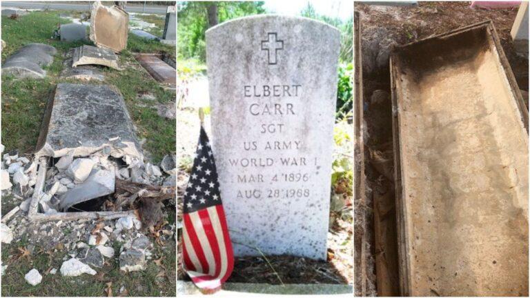 profanan tumbas roban restos veternos ritual
