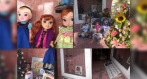 Roban juguetes a tumba de niña en Nuevo León