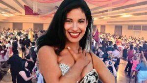 Selena Quintanilla en la Cueva Leonística: Fiesta de Charros del 94: video