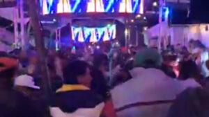 Sin miedo al Covid-19: En Tlaxcala hacen baile sonidero masivo (VIDEO)