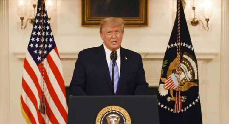 Trump acepta su derrota.