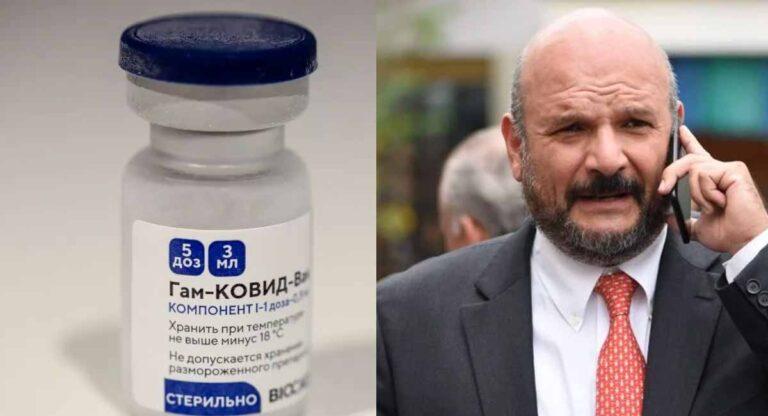 Desmienten rusos a Alejandro Cossío por compra de vacunas Sputnik V