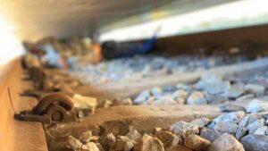 Velador municipal muere arrollado por el tren en Nuevo Laredo: FOTOS