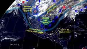 Novena tormenta invernal: Persistirán las bajas temperaturas en Tamaulipas