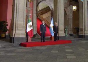 Presidente de Argentina: 'Es reconfortante estar en el México de López Obrador'