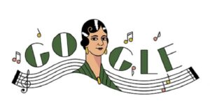 Doodle de Google homenajea a María Grever, compositora mexicana