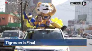 Maria Julia celebra mejor el pase a la final de Tigres que el medio tiempo del SB