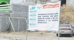 Obras infladas e innecesarias en Nuevo Laredo