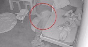 VIDEO: Pequeña es arrastrada bajo su cama por un fantasma