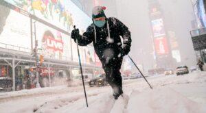 Poderosa tormenta invernal azota Nueva York y el noreste de Estados Unidos