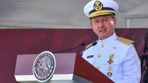 Por segunda vez, en menos de 4 meses, secretario de marina se contagia de Covid