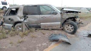 ¡Accidente fatal! Mujer muere en la Mex II de Nuevo Laredo