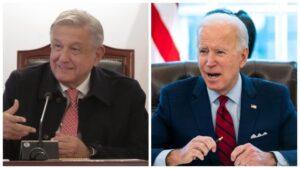 AMLO y Biden tendrán reunión virtual el próximo lunes