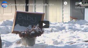Un muerto al estallar cañón que revelaba sexo del bebé (VIDEO)