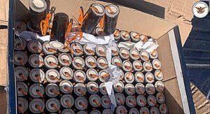 Interceptan en Puebla carga de artefactos explosivos con destino a Tamaulipas