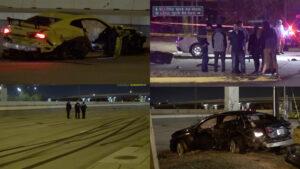 Carrera ilegal termina en tragedia; mueren aplastados por carro