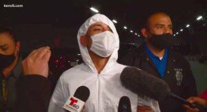 Atenta contra un policía de San Antonio; lo arrestan en Tamaulipas y lo regresan por Laredo, TX