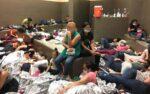 Liberan a familias de migrantes centroamericanas retenidas en Texas