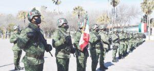 Refrendan militares servicio a México