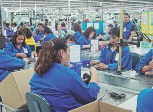Crece exportación y empleo en maquila
