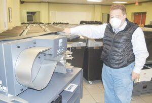 Adquieren máquinas para  voto electrónico