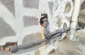 Se agotan piezas para reparar tuberías