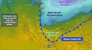 Esto es lo que se sabe de la nevada en los Laredos del próximo fin de semana