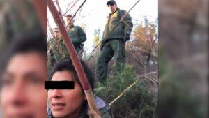 Coyote pelea con Border Patrol al cruzar el Río Bravo ilegalmente: VIDEO