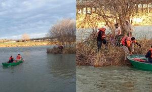 Niño hondureño muere ahogado en el río Bravo intentando llegar a EEUU