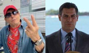Pepillo Origel hace enojar al alcalde de Miami por presumir su segunda vacuna covid