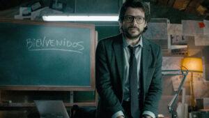 Revelan la fortuna que le pagan a El Profesor en La Casa de Papel