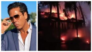 Se incendia hotel de actor Roberto Palazuelos en Tulum (VIDEO)