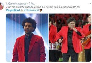 Show de The Weeknd en Super Bowl desata burlas y memes en las redes