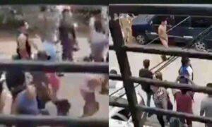 VIDEO: Vecinos desnudan y hacen desfilar a ladrones adolescentes