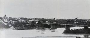 Así cruzaban el Río Bravo en la antigua Villa de Laredo en 1900 (FOTOS)
