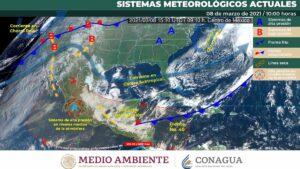 Un sistema de alta presión mantendrá ambiente caluroso en gran parte del país