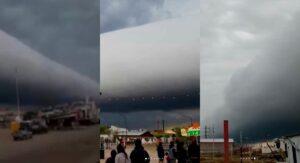VIDEO: Extraña nube aterroriza Argentina