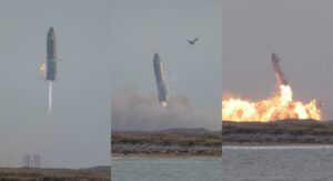 La nave espacial Starship de SpaceX explota después de aterrizar VIDEO