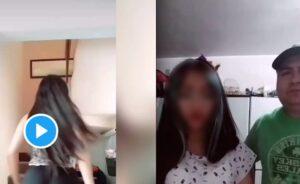 Obliga a su hija a disculparse por video que subió a TikTok