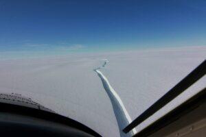 Se desprende en Antártida un iceberg más grande que Nueva York