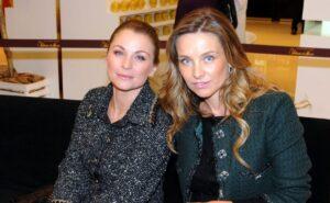 Ludwika y Dominika Paleta posan juntas; ¡están igualitas!
