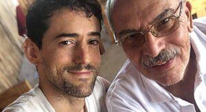 Luis Gerardo Méndez lanza emotivo mensaje por la muerte de su padre por covid